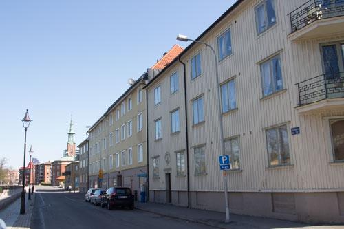 Äldre bebyggelse i Gårda.
