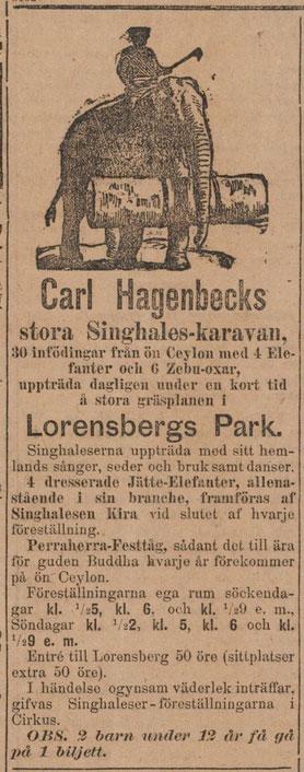 Ur: Göteborgs Aftonblad1890-09-06