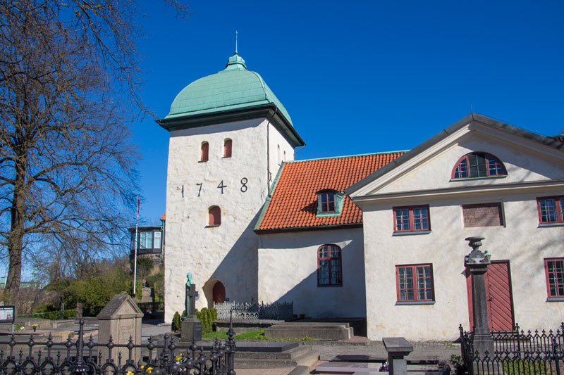 Örgryte gamla kyrka. Foto: Per Hallén 2016