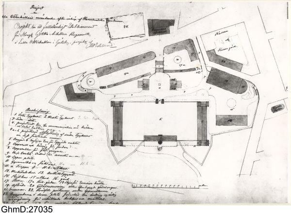 exercishuset göteborg karta Göteborgs försvar – Göteborgs historia exercishuset göteborg karta