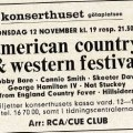 Countrywesternfestival